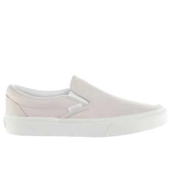 Womens Vans Pale Pink Classic Slip Trainers