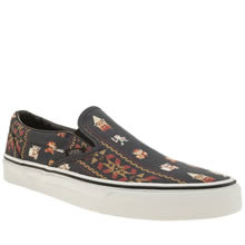Vans Navy & Red Slip Nintendo Zelda Womens Trainers