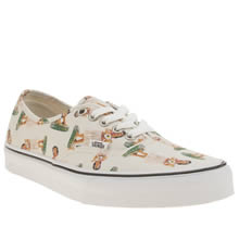 Vans Stone Authentic Digi Hula Womens Trainers
