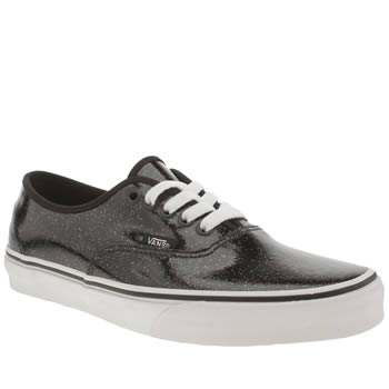 Vans Black & White Authentic Trainers