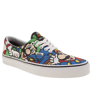 Vans Multi Era Nintendo Mario Womens Trainers