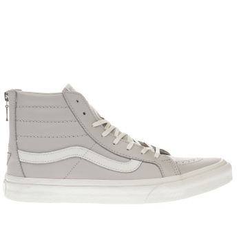 Vans Lilac Sk8-Hi Slim Zip Womens Trainers