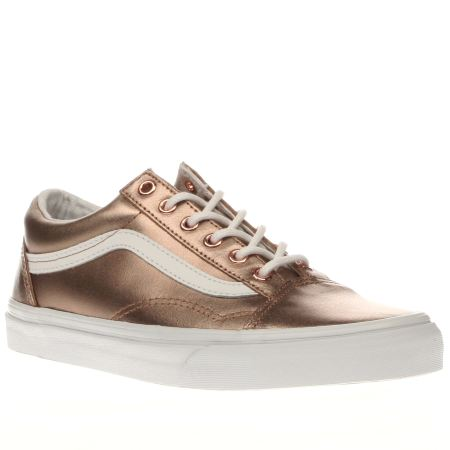 Vans Rose Gold Old School