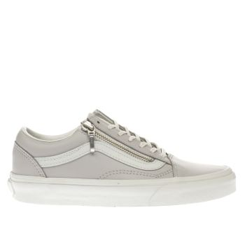 Vans Lilac Old Skool Zip Womens Trainers