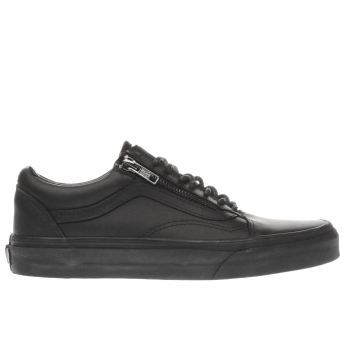Vans Black Old Skool Zip Womens Trainers