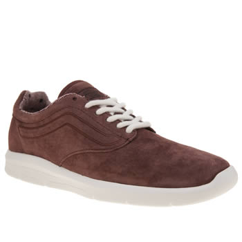Vans Burgundy Iso 1-5 Tweed Dots Womens Trainers