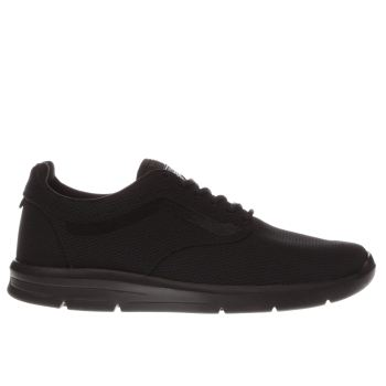 Vans Black Iso 1-5 Womens Trainers