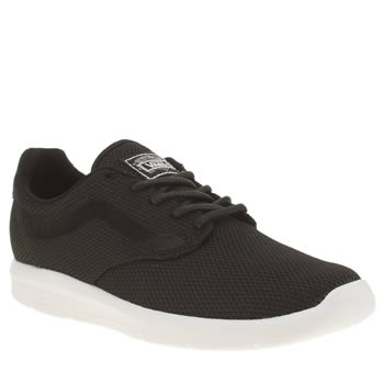 Vans Black & White Iso 1-5 Womens Trainers