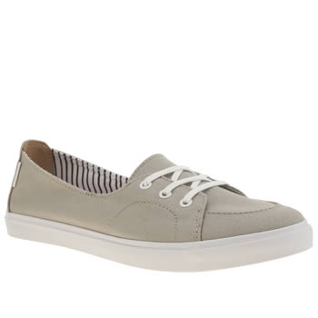 Womens Vans Grey Palisades Surf Stripes Trainers