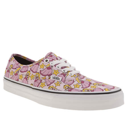 vans nintendo princess peach 1