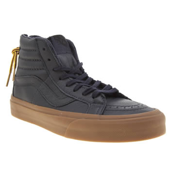 Vans Navy Sk8-hi Reissue Zip Womens Trainers