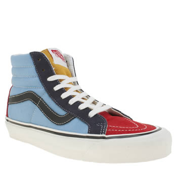 Vans Multi 50th Sk8-hi 38 Reissue Womens Trainers