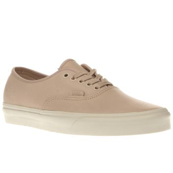 Vans Natural Veggie Leather Authentic Dx Trainers