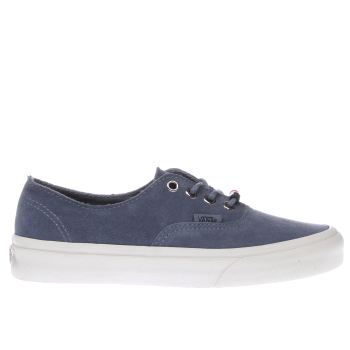 Vans Blue Authentic Decon Womens Trainers
