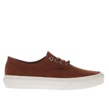 Vans Tan Authentic Decon Trainers