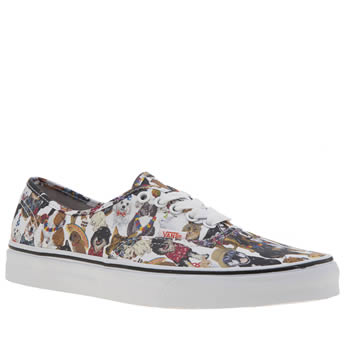 Vans Multi Authentic Aspca Dogs Womens Trainers