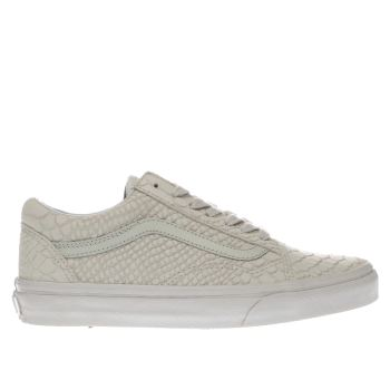 Vans White Old Skool Dx Womens Trainers