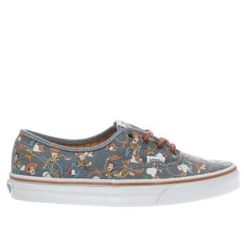 Vans Navy Authentic Toy Story Woody Womens Trainers