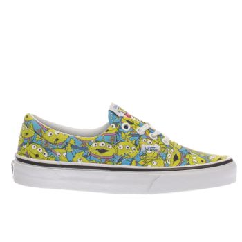 Vans Navy & Lime Era Toy Story Aliens Womens Trainers