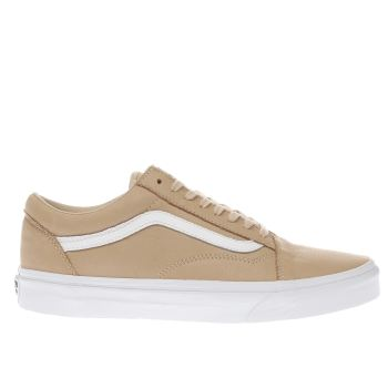 Vans Natural Old Skool Womens Trainers