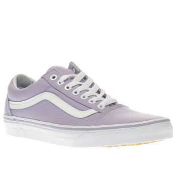 Vans Lilac Old Skool Womens Trainers