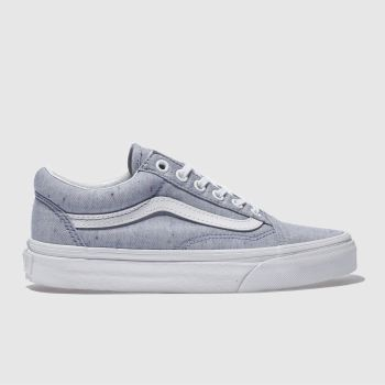 Vans Blue Old Skool Womens Trainers