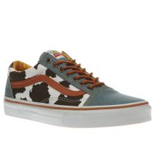 Vans Navy & White Old Skool Toy Story Woody Womens Trainers