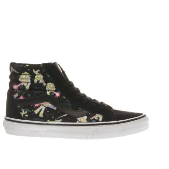 Vans Black Sk8-hi Toy Story Buzz Womens Trainers