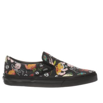Vans Black & Red Slip On Toy Story Sids Mutants Womens Trainers