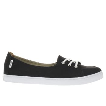 Vans Black & White Palisades Sf Trainers