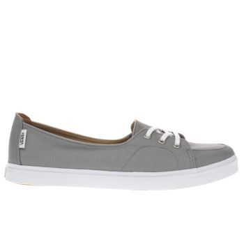 Vans Grey Palisades Sf Womens Trainers