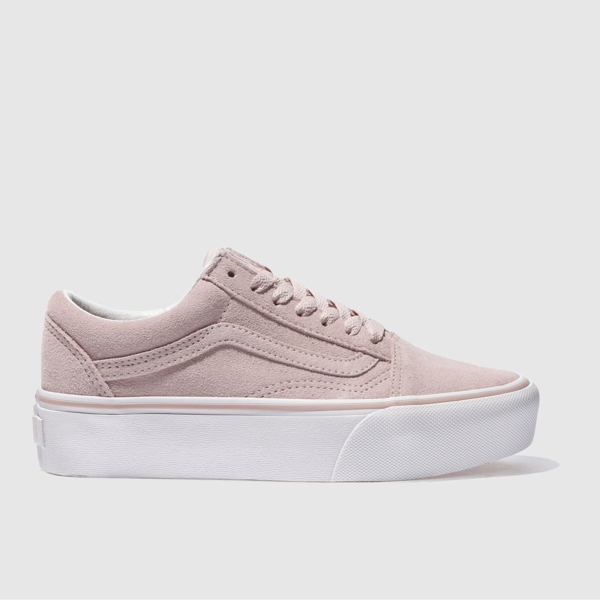 vans pale pink old skool platform trainers bluewater. Black Bedroom Furniture Sets. Home Design Ideas