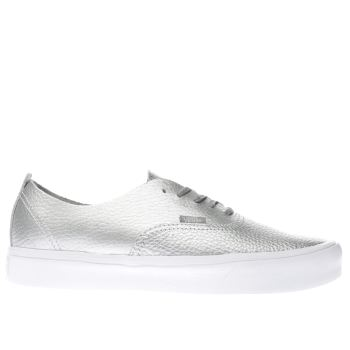 Vans Silver Authentic Decon Lite Womens Trainers