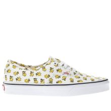 Vans Cream Authentic Peanuts Woodstock Womens Trainers