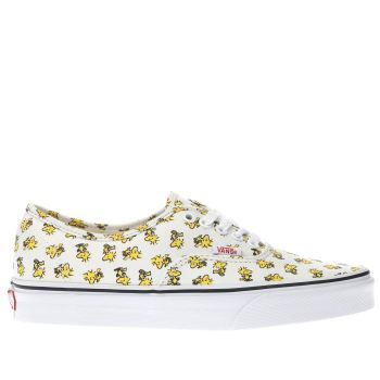 Vans Stone Authentic Peanuts Woodstock Womens Trainers