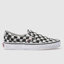 Vans White & Black Slip-on Peanuts Snoopy Womens Trainers