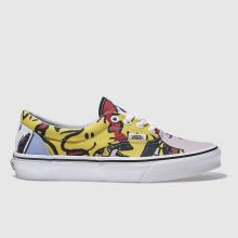 Vans Yellow & Red Era Peanuts The Gang Womens Trainers