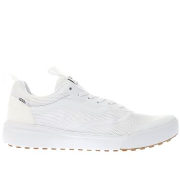 Vans White Ultrarange Rapidweld Womens Trainers