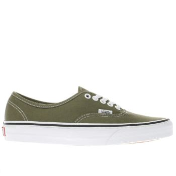 Vans Khaki Authentic Womens Trainers