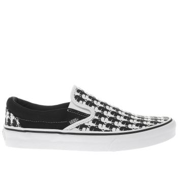 Vans Black Classic Slip-On Womens Trainers