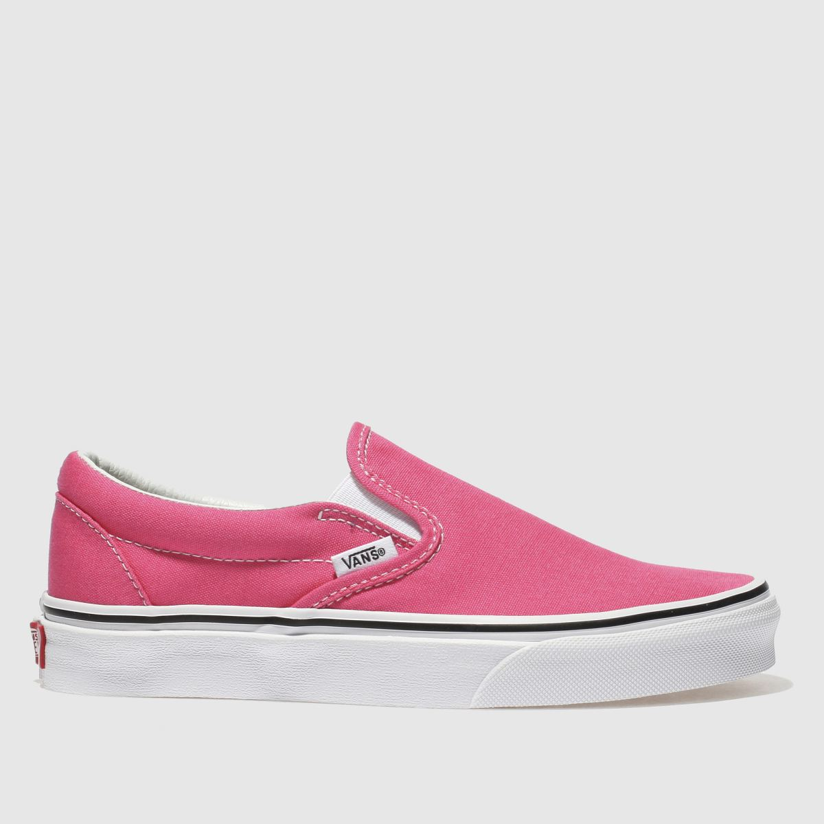 Vans Pink Classic Slip-on Trainers