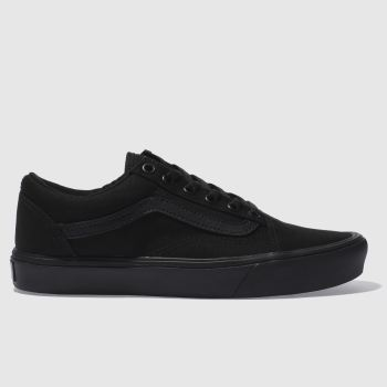 Vans Black Old Skool Lite Canvas Womens Trainers