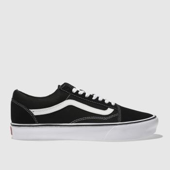 Vans Black Old Skool Lite Womens Trainers