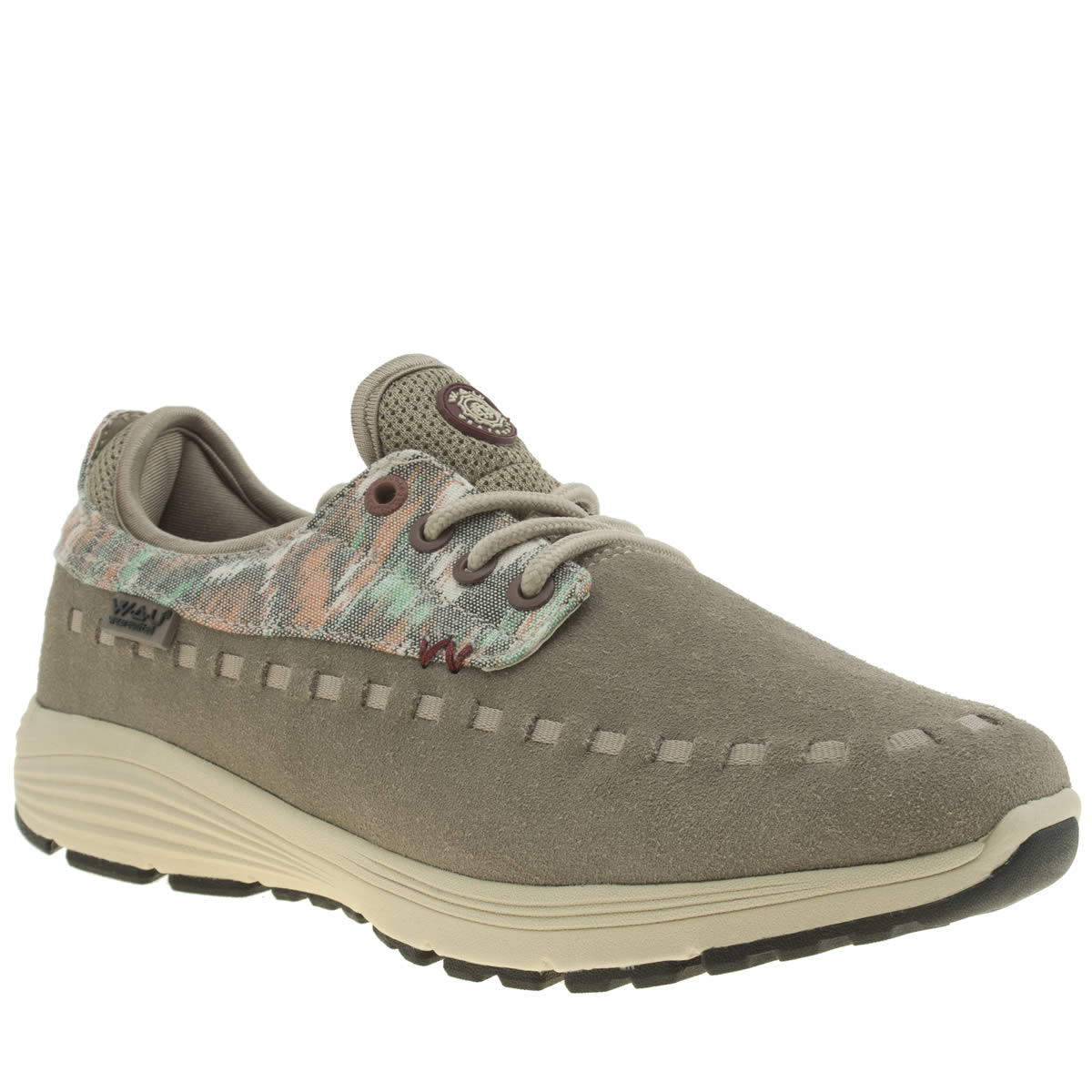we are united We Are United Beige Apache Trainers