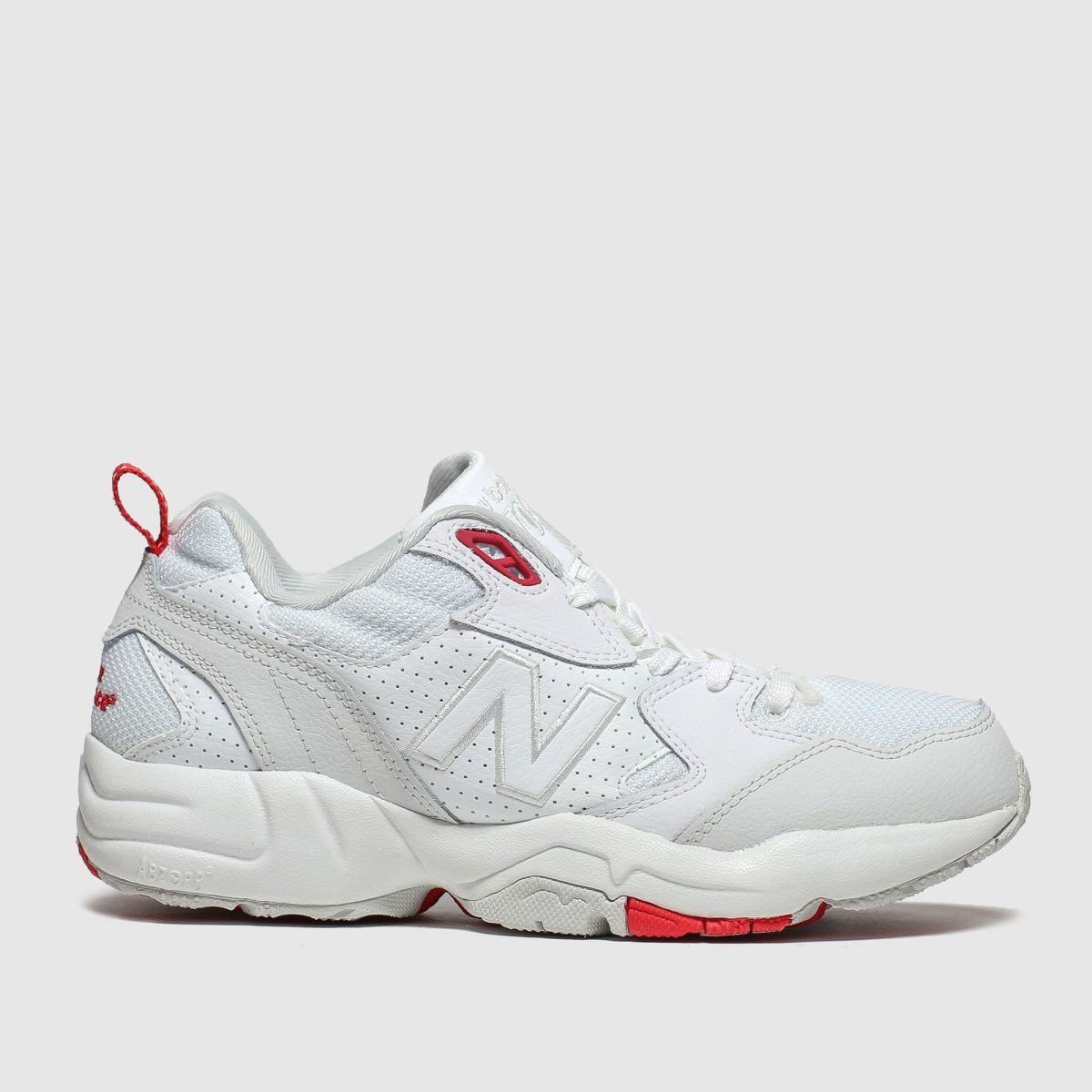 New Balance New Balance White & Red 708 Trainers