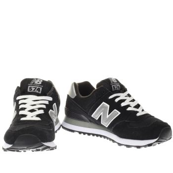womens new balance 574 trainers