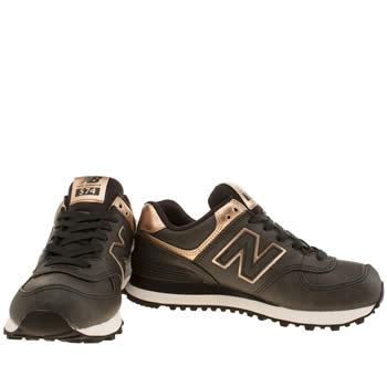 new balance kaki et rose gold