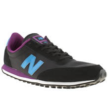 Black and blue New Balance 410