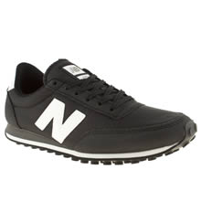 Black & White New Balance 410