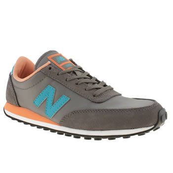 womens new balance grey 410 ii trainers
